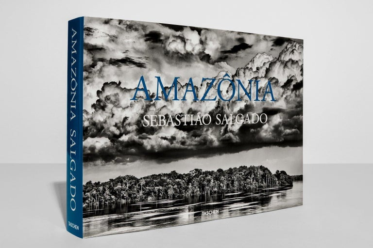 Hardcover Photography book, 14.1 x 10.2 in., 9.21 lb, 528 pages.  For six years Sebastião Salgado traveled the Brazilian Amazon and photographed the unparalleled beauty of this extraordinary region: the rainforest, the rivers, the mountains, the