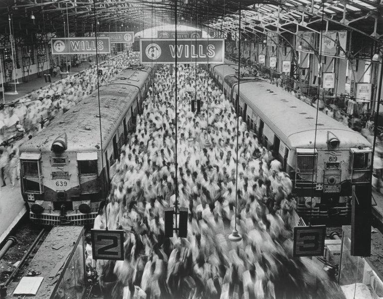 Church Gate Station, Western Railroad Line. Bombay, India