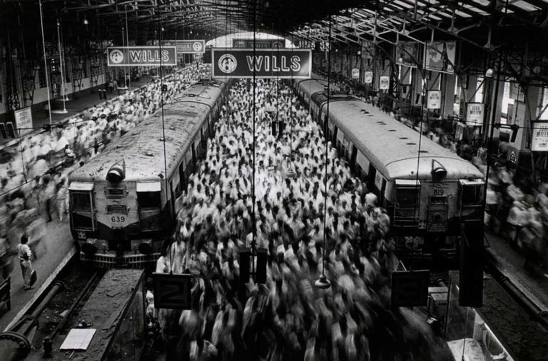 Churchgate Train Station, Bombay, India, 1995