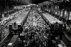 Churchgate Train Station, Bombay, India, 1995