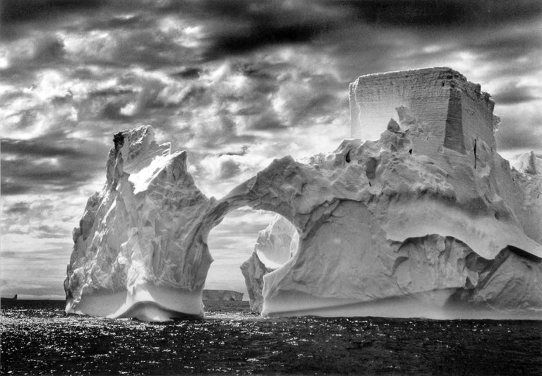 Sebastião Salgado Black and White Photograph - Iceberg Between Paulet Island and the Shetland Islands, Antarctica, 2005