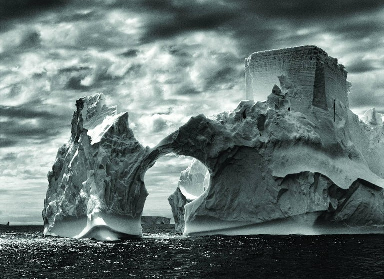 Sebastião Salgado Landscape Photograph - Iceberg between Paulet Island and the South Shetland Islands in the Weddell Sea
