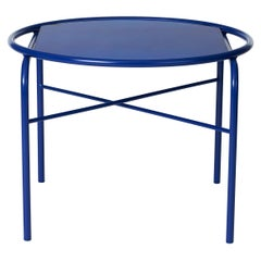 Secant Circle Table in Steel Frame, by Sara Wright Polmar from Warm Nordic