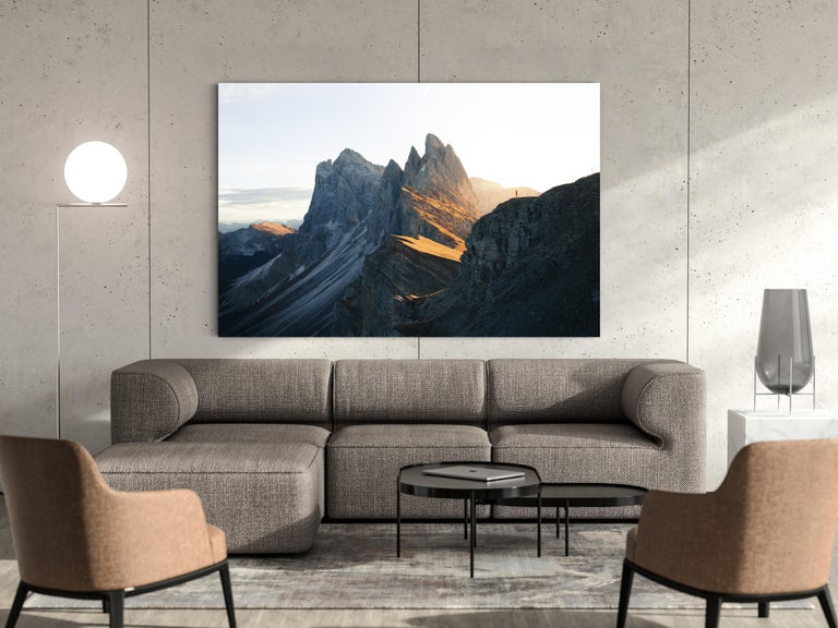 Acrylic Seceda by Christiaan Nies For Sale