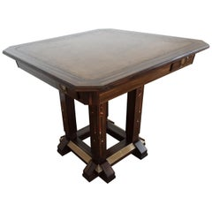 Secessionists Design Games Table by Ludwig Schmitt