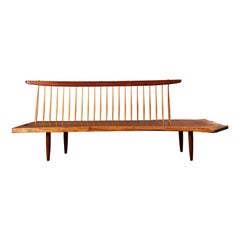 Second Deposit For George Nakashima 'Conoid' Bench