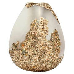 Second Skins, Brass Vase by Tamara Barrage for House of Today