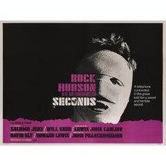 """""""Seconds"""" Original British Film Poster"""