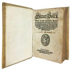 Secreet-Boeck, by Abraham Canin, Dordrecht, 1601
