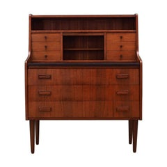 Secretaire Retro 1960s-1970s Scandinavian Design