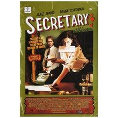 Secretary 2002 U.S. One Sheet Film Poster
