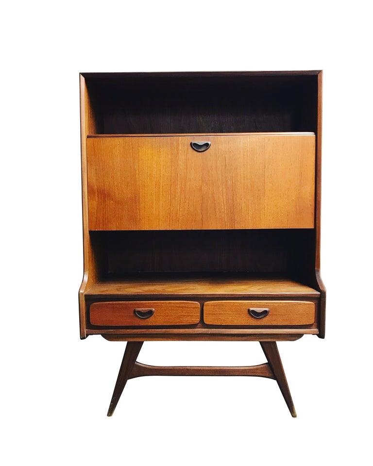 Secretary Bar Cabinet by Louis Van Teeffelen, 1960s 2