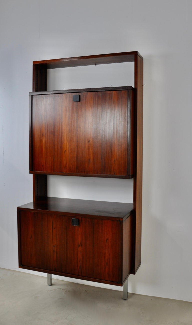 Mid-Century Modern Secretary by Alfred Hendrickx for Belform, 1960s For Sale
