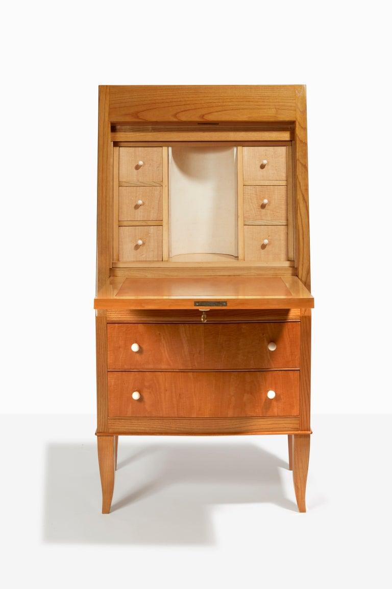 Neoclassical Secretary Desk by André Arbus 1937 For Sale