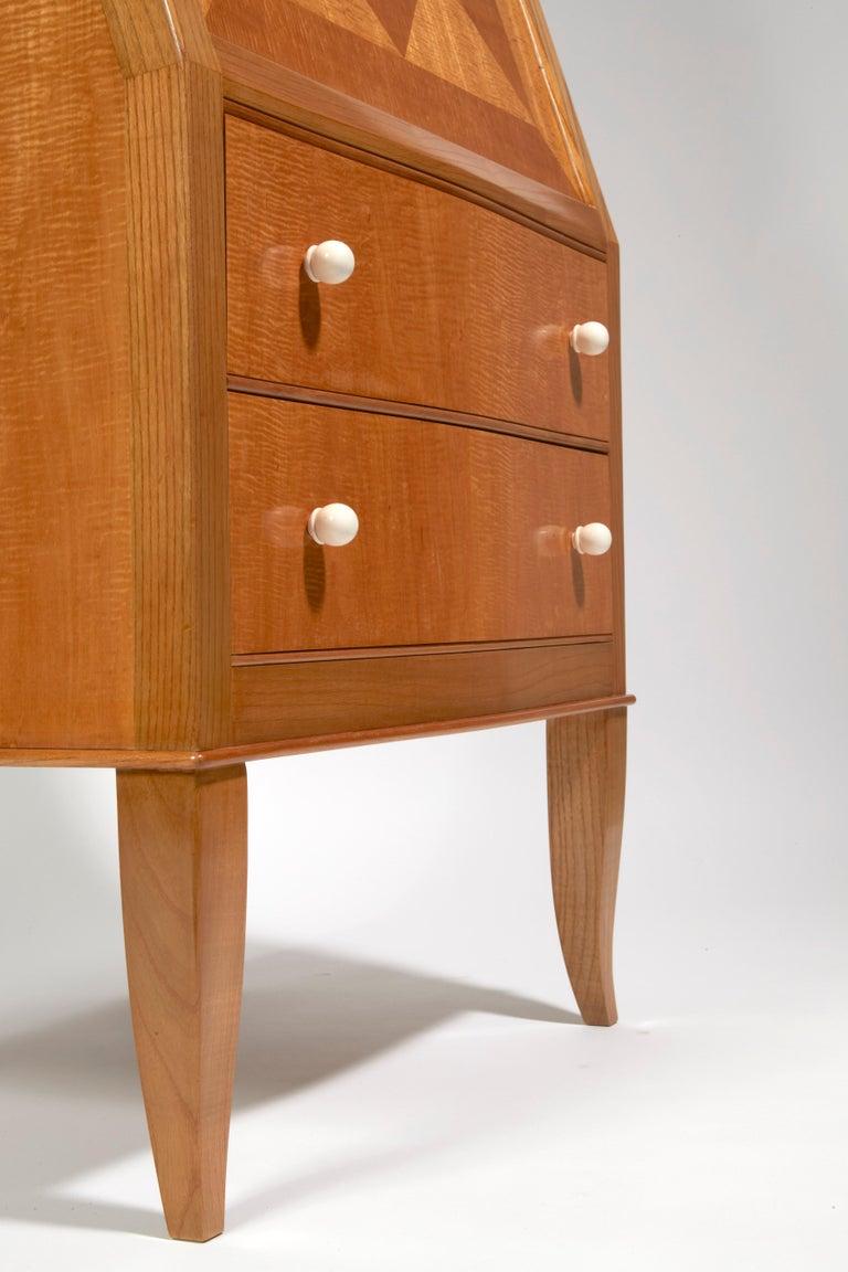 Secretary Desk by André Arbus 1937 In Excellent Condition For Sale In Paris, FR