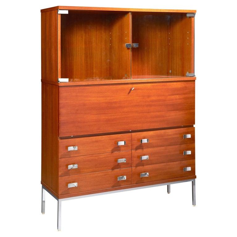 Secretary Desk by Antoine Philippon & Jacqueline Lecoq For Sale