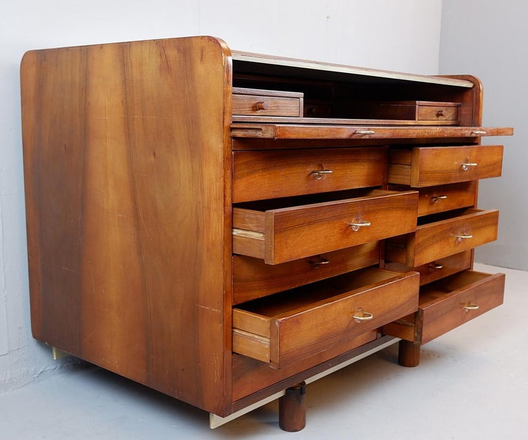 Secretary Desk by Designer Gianfranco Frattini for Bernini, 1960s In Good Condition In Brussels, BE