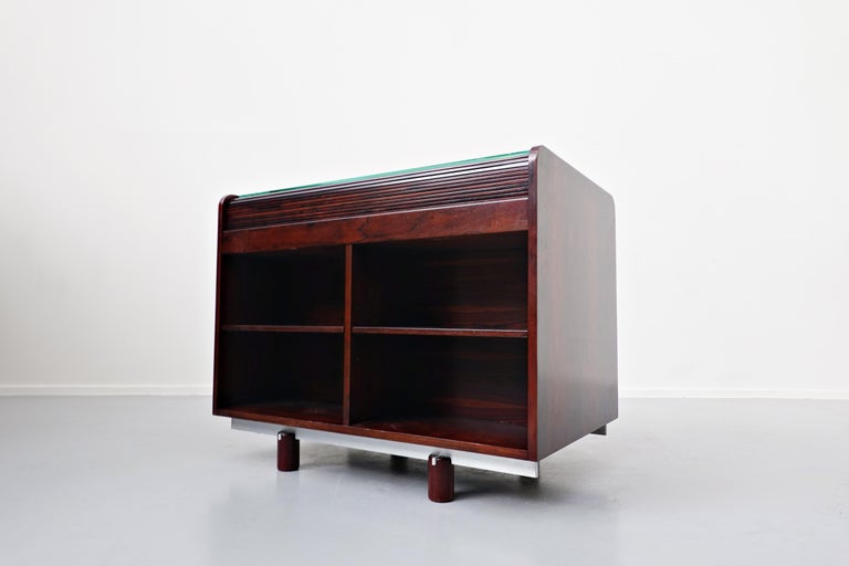 Mid-Century Modern Secretary Desk by Gianfranco Frattini for Bernini, 1960s For Sale 4