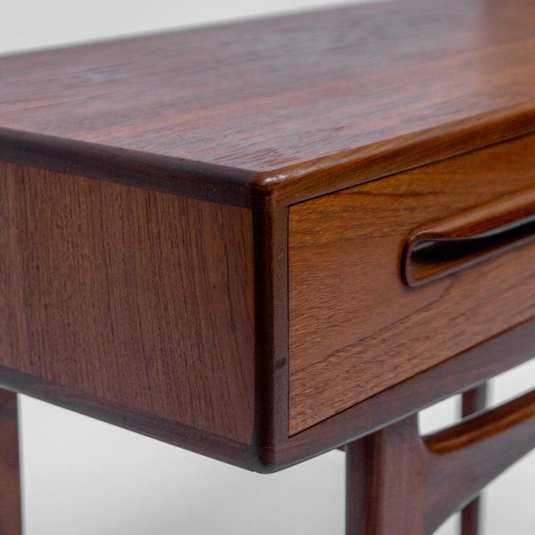 Mid-20th Century Secretary Desk by Louis Van Teeffelen for Wébé, 1960s For Sale