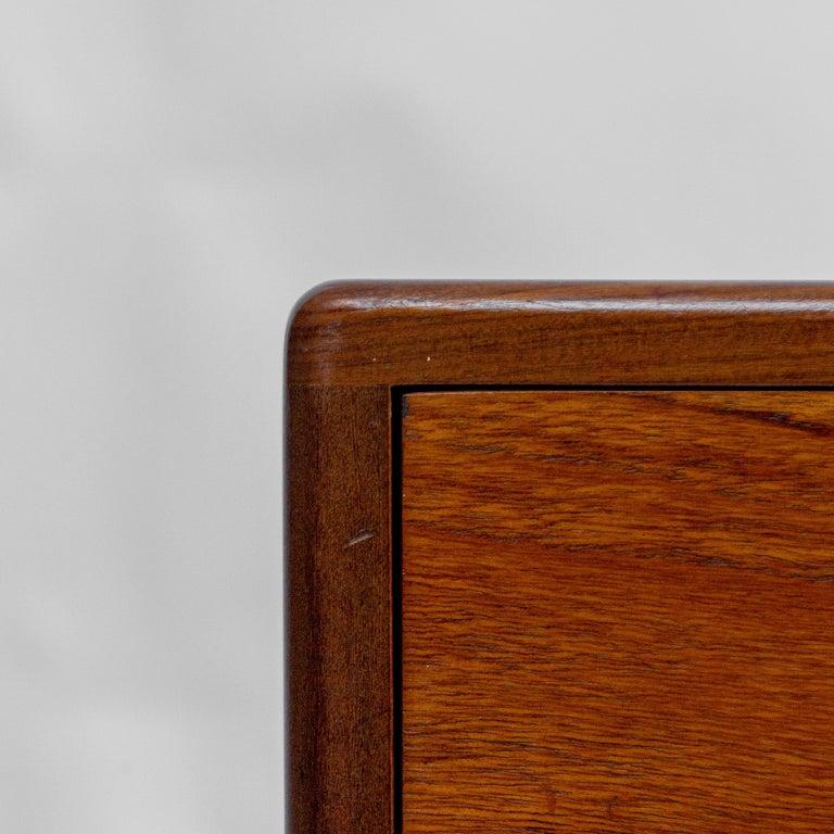 Secretary Desk by Louis Van Teeffelen for Wébé, 1960s For Sale 1