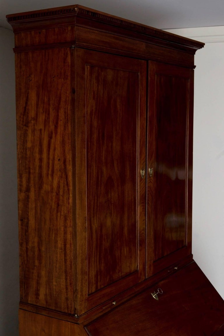 Secretary Swedish Gustavian Neoclassical Mahogany, 18th Century, Sweden For Sale 4