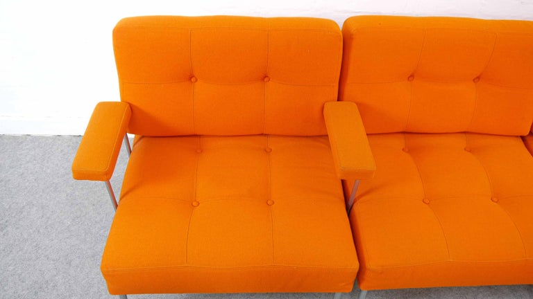 Sectional Revolt Sofa by Poul Cadovius for France & Son, Denmark For Sale 3