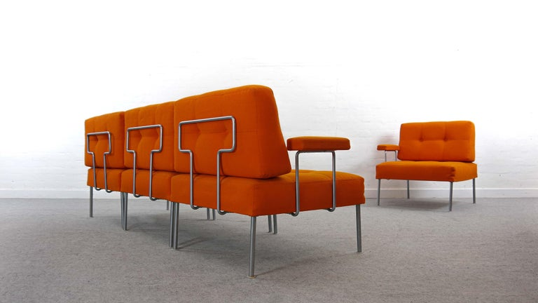 Scandinavian Modern Sectional Revolt Sofa by Poul Cadovius for France & Son, Denmark For Sale