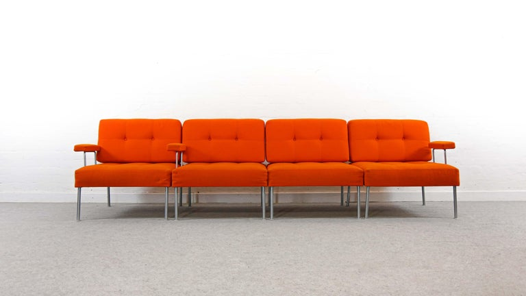Sectional Revolt Sofa by Poul Cadovius for France & Son, Denmark In Good Condition For Sale In Halle, DE
