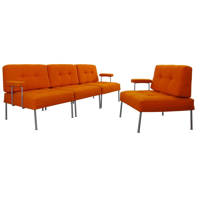 Sectional Revolt Sofa by Poul Cadovius for France & Son, Denmark For Sale