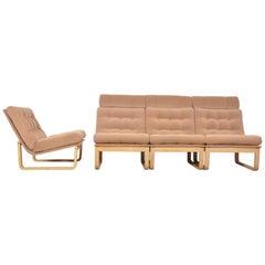 Sectional Sofa by Rud Thygesen & Johnny Sorensen for Magnus Olsen, Durup, 1960s