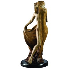 """Security Blanket"" Bronze by Martin Eichinger"