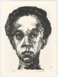 America's Mom II (Small Leticia, the artist's wife)