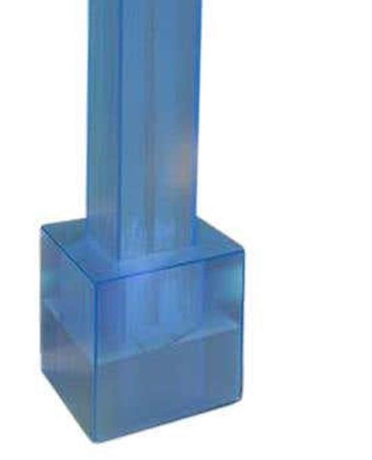 American See Water, Ocean, Acrylic Table Top Fountain, Small For Sale