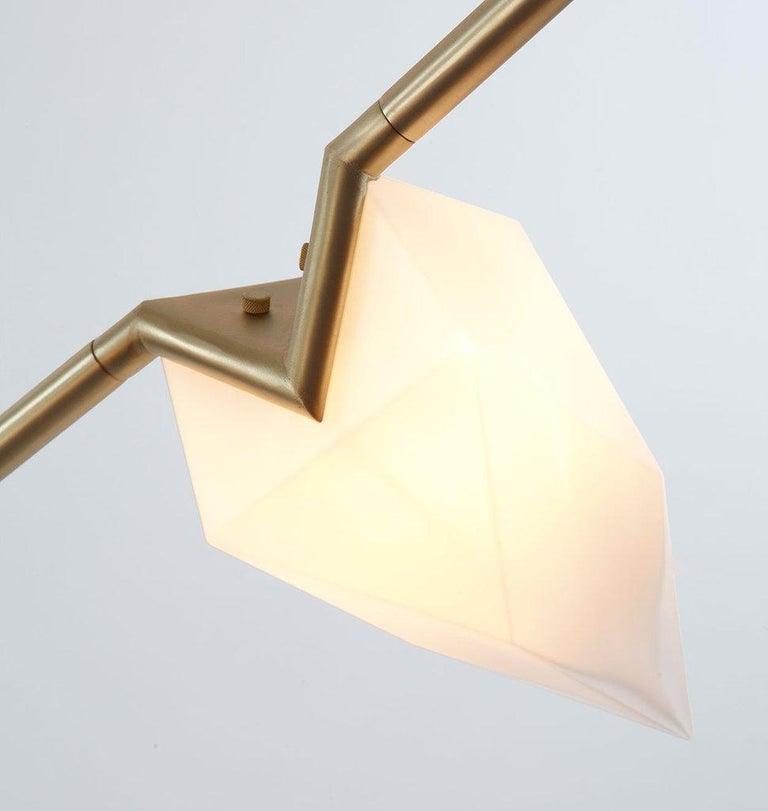 American Seed Sconce in Polished Nickel by Bec Brittain for Roll & Hill For Sale