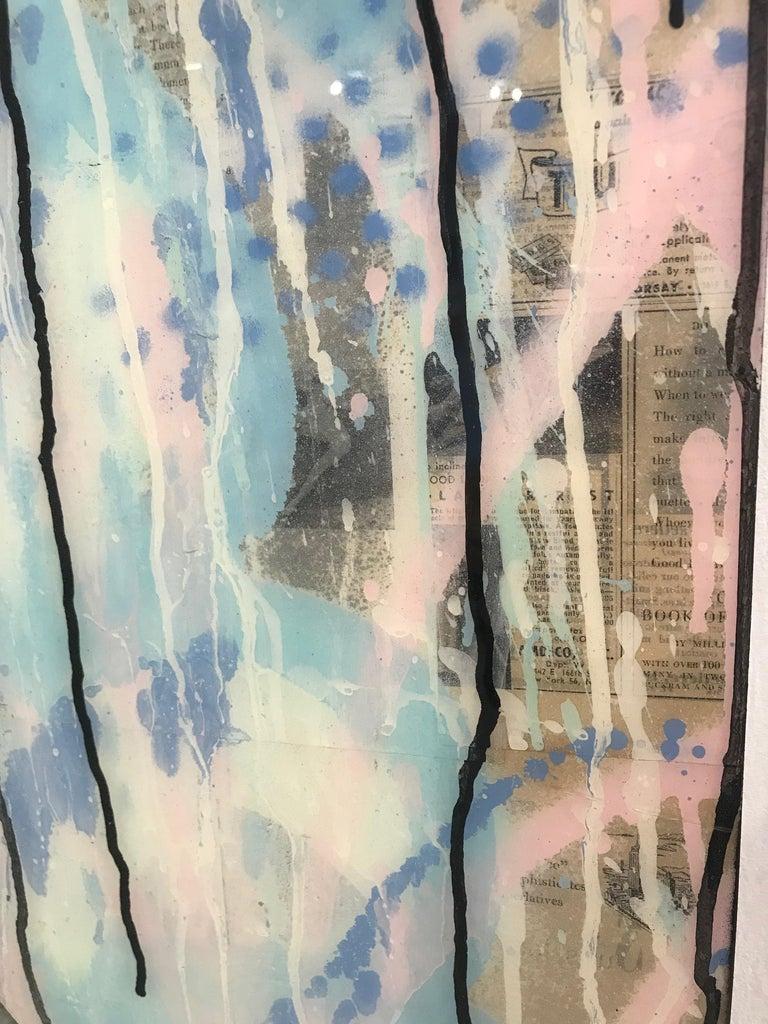 Twiggy x LV  - Pop Art Painting by Seek One