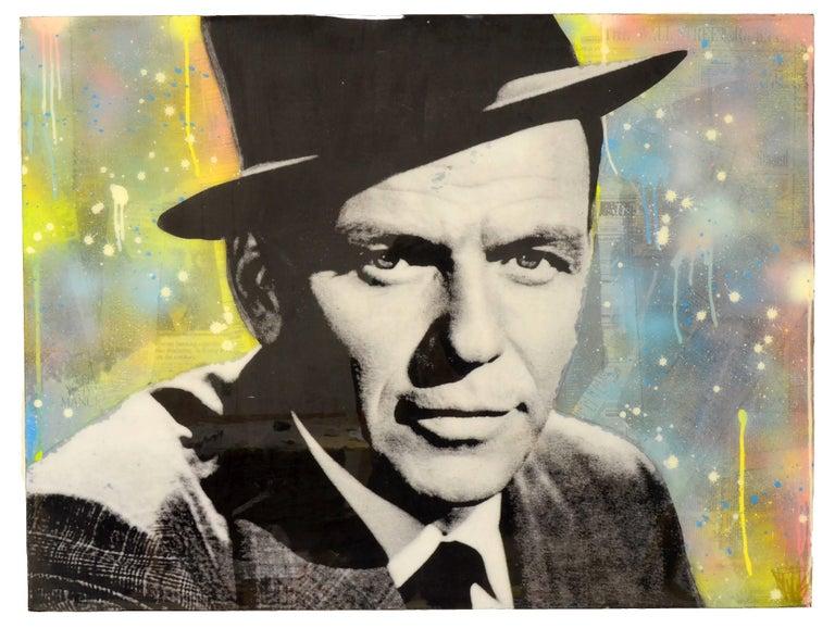 Seek One Portrait Painting - Sinatra