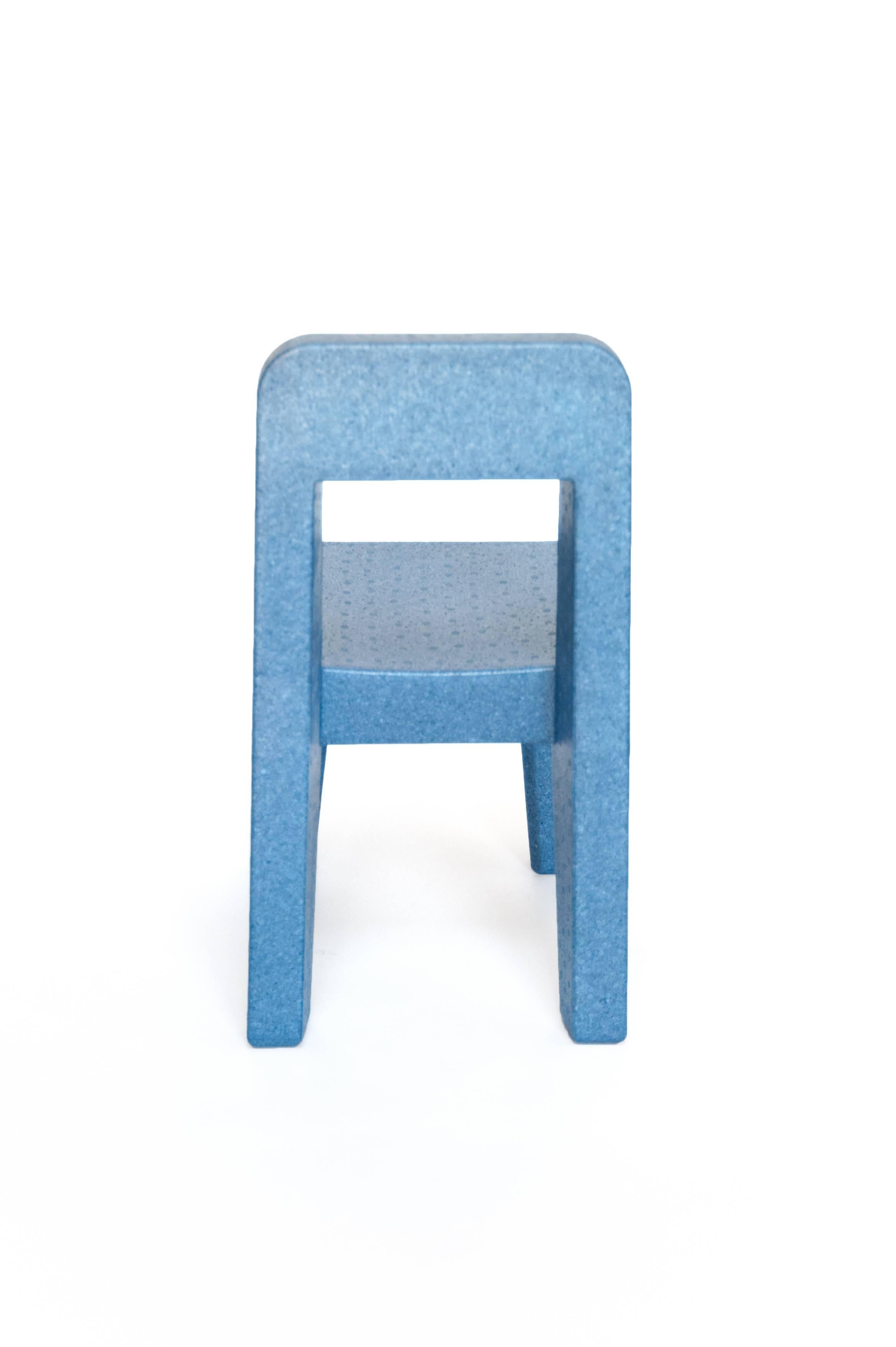 Seggiolina Pop Child Chair By Enzo Mari In Polypropylene Foam, Italy, 2004  In Excellent