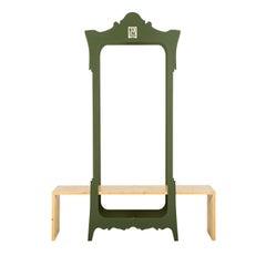 Segno Wardrobe with Bench #1 by Flore & Venezia