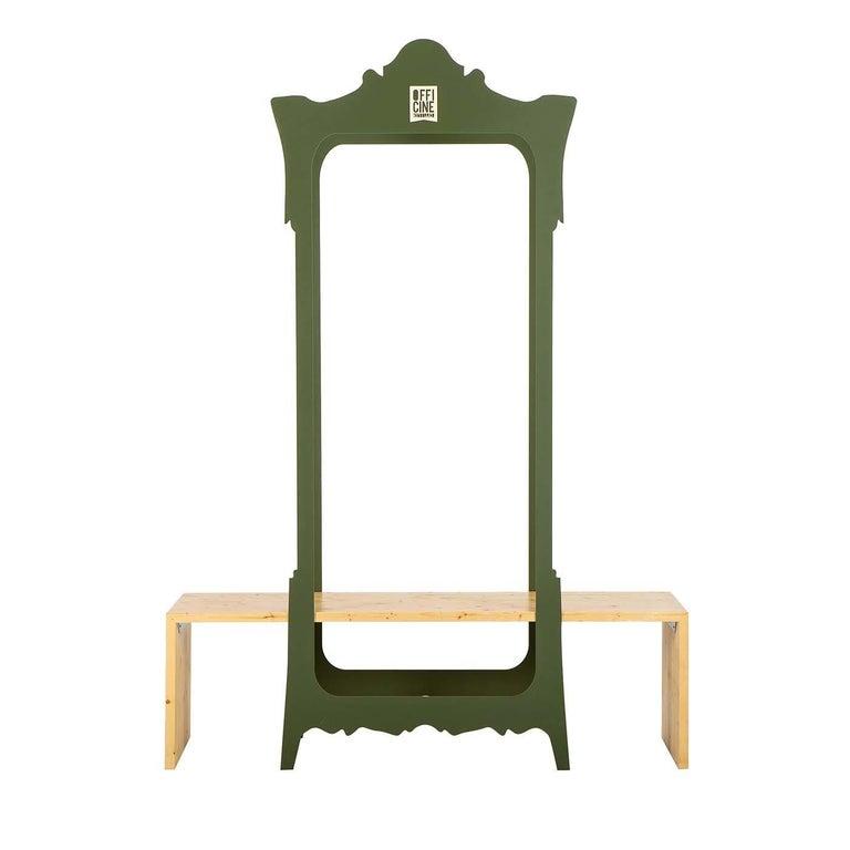 Segno Wardrobe with Bench #1 by Flore & Venezia For Sale
