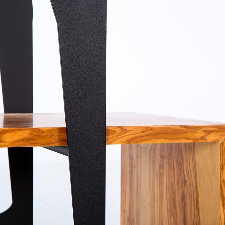 Italian Segno Wardrobe with Bench #2 by Flore & Venezia For Sale