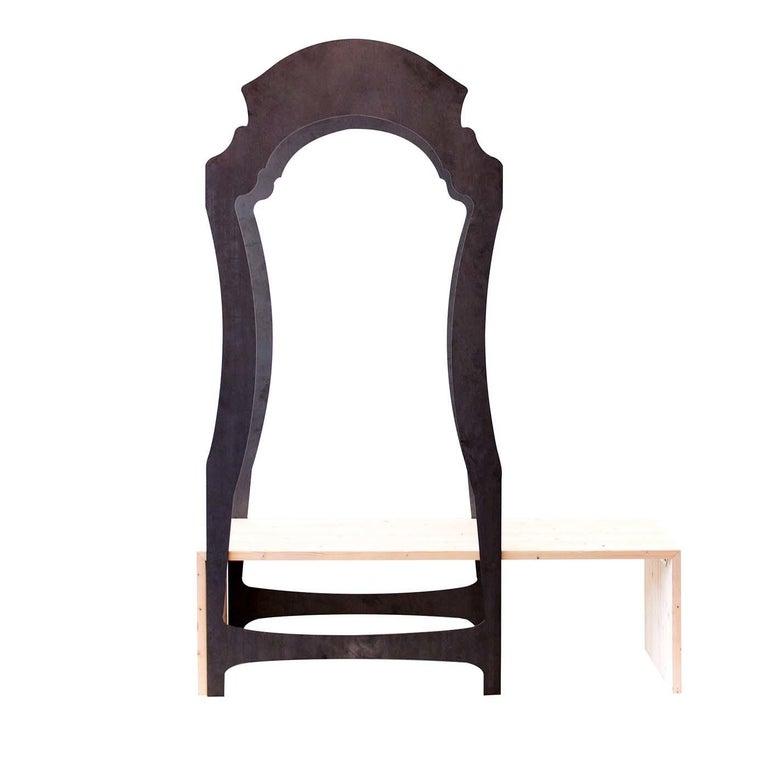 Segno Wardrobe with Bench #2 by Flore & Venezia For Sale