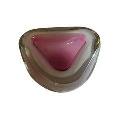 Seguso Ashtray Murano Glass, 1950, Italy