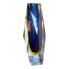 "Seguso ""Flavio Poli"" Vase Murano Glass, 1950, Italy"