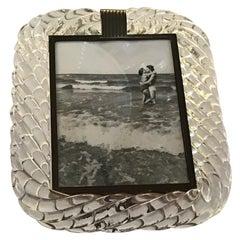 Seguso Frame Murano Glass Brass, 1940, Italy