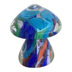 Seguso Paperweight Murano Glass, 1950, Italy