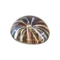 Seguso Paperweight Seguso Murano Glass 1950 Italy