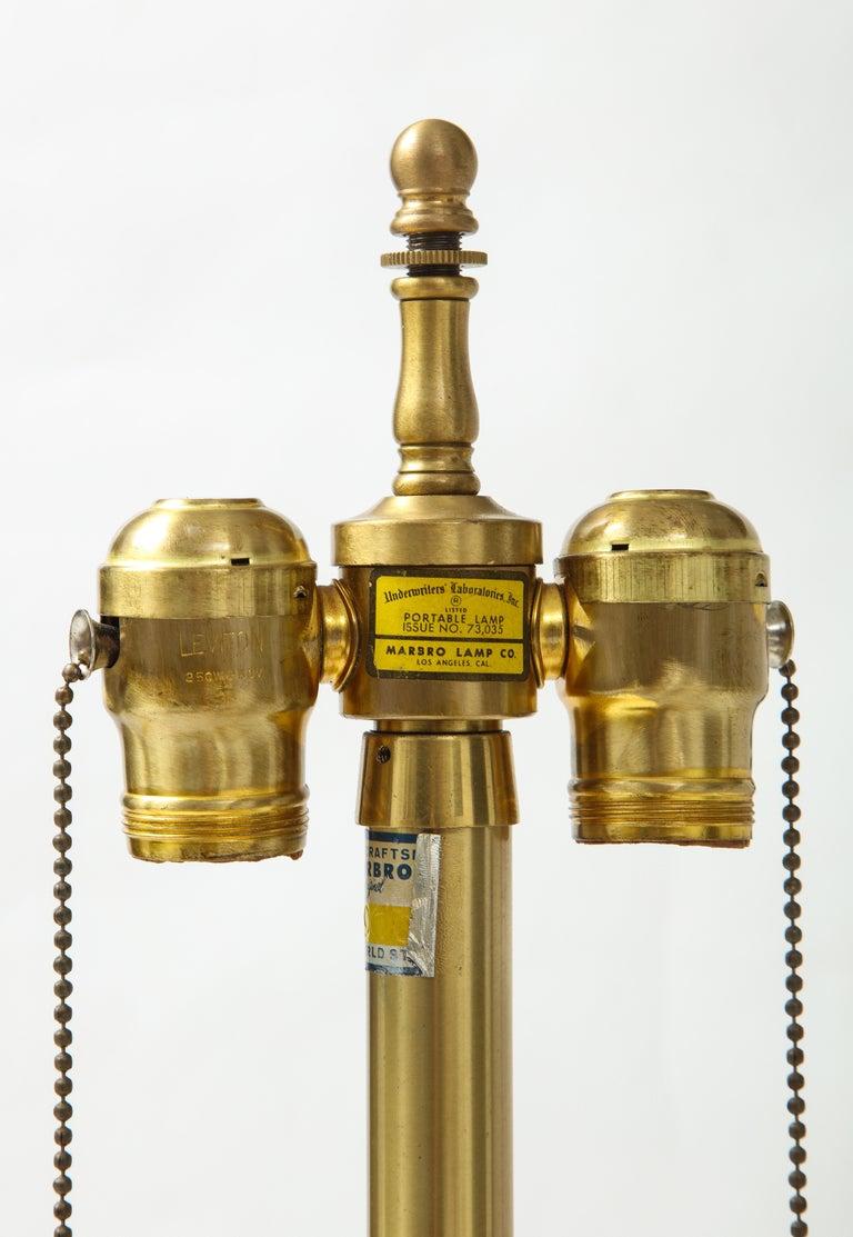 20th Century Seguso Peidot Murano Glass Lamps For Sale