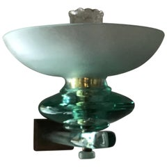 Seguso Sconce Glass Brass 1940 Italy