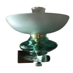 Seguso Sconces Glass Brass 1940 Italy