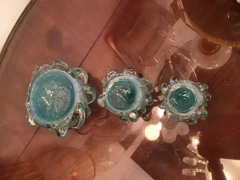 Seguso Smoke Set Murano Glass, 1940, Italy For Sale 6
